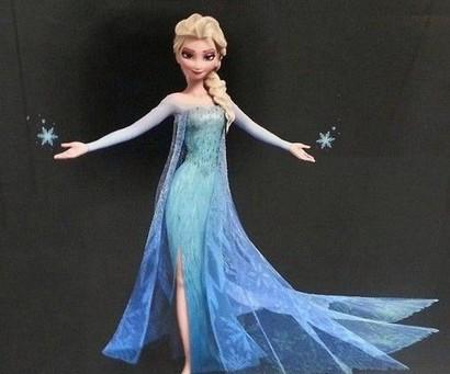 Платья эльзы из мультфильма холодное сердце