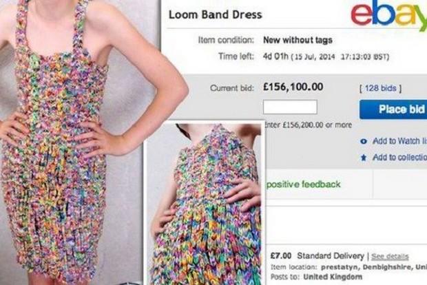 Тренд в интернете #21: Loom band dress — платье из браслетов